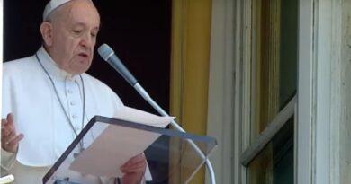 Il Papa all'Angelus :Lasciarsi riempire il cuore dal fuoco dell'Amore per amare Dio e i fratelli