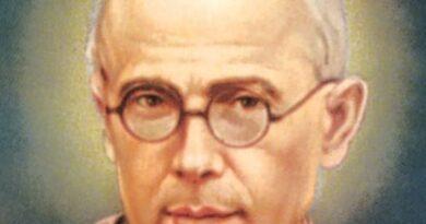 San Massimiliano Kolbe, il martire dell'amore ad Auschwitz.