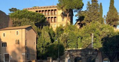 Colle capitolino, iniziati lavori recupero versante su via Teatro Marcello