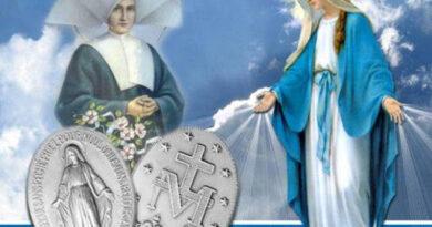 Festa della Medaglia Miracolosa donata a Santa Caterina Labouré.