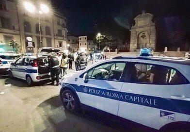 Polizia Locale Roma Capitale: tutela della salute collettiva, interventi delle pattuglie nel fine settimana.